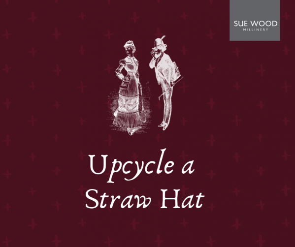 Upcycle a Straw Hat
