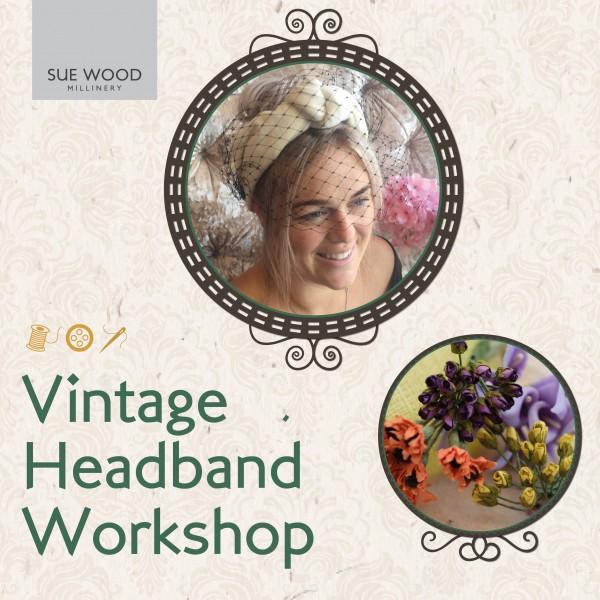 Vintage Headband Workshop